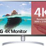 Monitor 4k Blanco