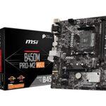 Placa Base Msi B450m Pro-m2 Max