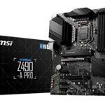 Placa Base Msi Z490-a Pro